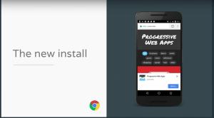 installeer een PWA op android